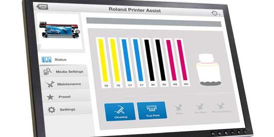 Προετοιμασία Roland εκτυπωτών για περιόδους μη χρήσης