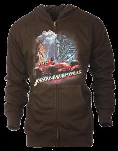 sample hoodie indianapolis large