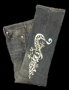 sample pants lizard